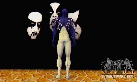 Skin The Amazing Spider Man 2 - Suit Cosmic para GTA San Andreas sucesivamente de pantalla