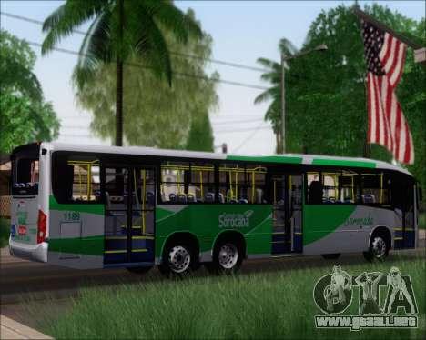 Comil Svelto BRT Scania K310IB 6x2 Sorocaba para la visión correcta GTA San Andreas