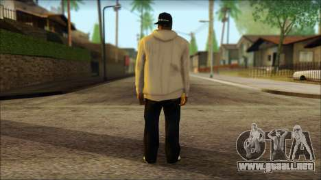 Afro - Seville Playaz Settlement Skin v5 para GTA San Andreas segunda pantalla