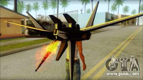 Machine Wing Jetpack para GTA San Andreas tercera pantalla