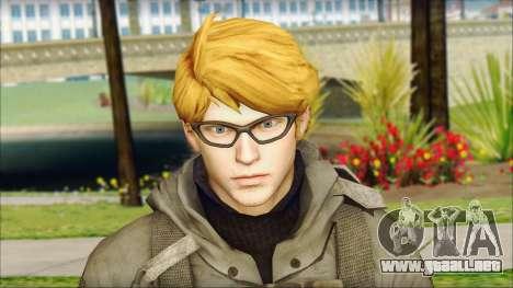 Alfred F. Jones para GTA San Andreas tercera pantalla