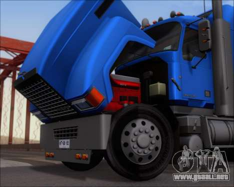 Mack Pinnacle 2006 para GTA San Andreas vista hacia atrás