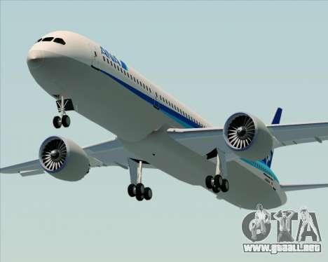 Boeing 787-9 All Nippon Airways para visión interna GTA San Andreas
