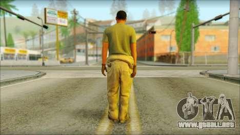 GTA 5 Soldier v3 para GTA San Andreas segunda pantalla