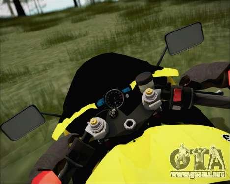 Yamaha R1 HBS Style para la visión correcta GTA San Andreas