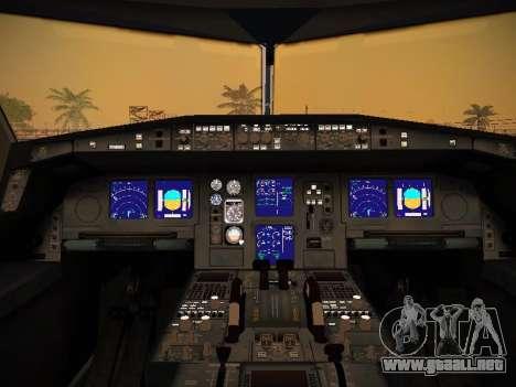 Airbus A340-600 Qatar Airways para las ruedas de GTA San Andreas