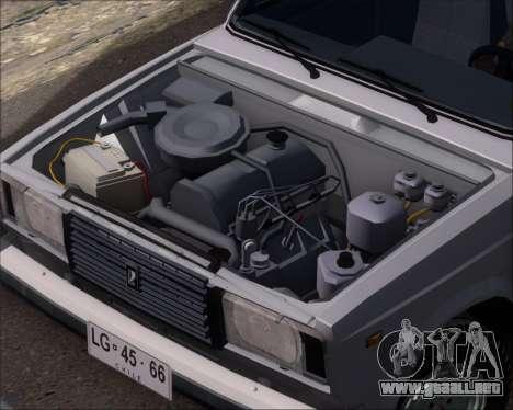 LADA 2107 para visión interna GTA San Andreas