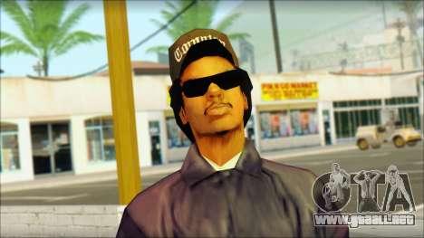 Eazy-E Blue Skin v1 para GTA San Andreas tercera pantalla