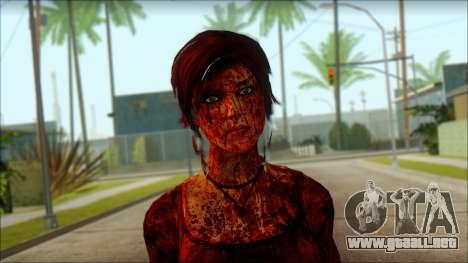 Tomb Raider Skin 9 2013 para GTA San Andreas tercera pantalla