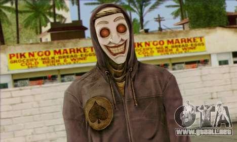 Gangster Joker (Injusticia) para GTA San Andreas tercera pantalla