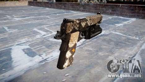 Pistola De Kimber 1911 Viper para GTA 4 segundos de pantalla
