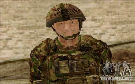 Soldados británicos (ArmA II: BAF) v1 para GTA San Andreas tercera pantalla