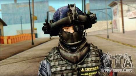 MG from PLA v3 para GTA San Andreas tercera pantalla