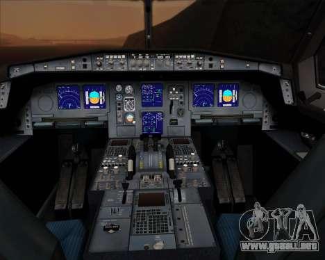 Airbus A330-300P2F UPS Airlines para GTA San Andreas interior