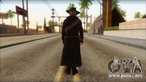 Ray McCall Gunslinger para GTA San Andreas segunda pantalla