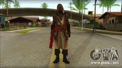 Adewale from Assassins Creed 4: Freedom Cry para GTA San Andreas