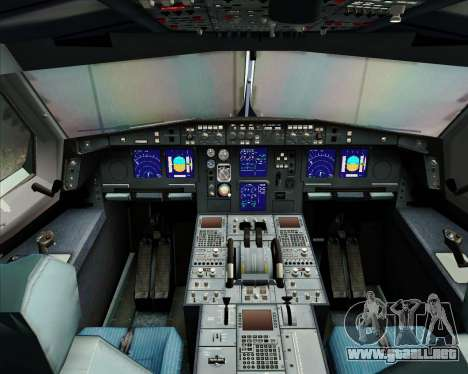 Airbus A340-313 Singapore Airlines para GTA San Andreas interior