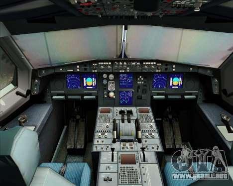 Airbus A340-313 Singapore Airlines para GTA San Andreas interior