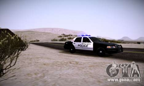 Graphic mod for Medium PC para GTA San Andreas segunda pantalla