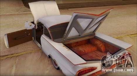 Chevrolet Biscayne 1959 Ratlook para visión interna GTA San Andreas