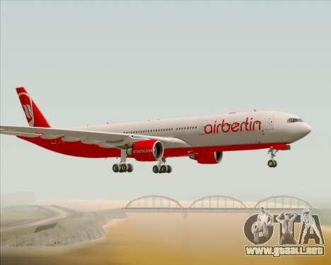 Airbus A330-300 Air Berlin para la visión correcta GTA San Andreas