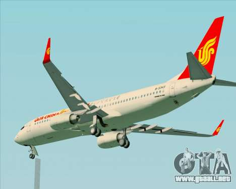 Boeing 737-89L Air China para la vista superior GTA San Andreas