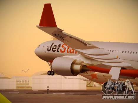 Airbus A330-200 Jetstar Airways para GTA San Andreas