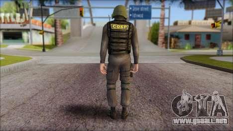 Australian Soldier para GTA San Andreas segunda pantalla