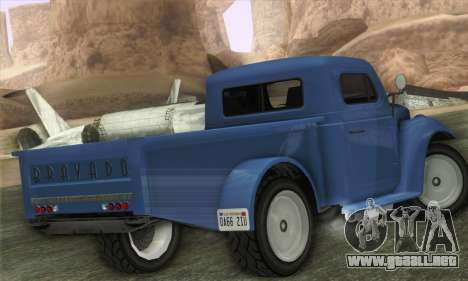 Bravado Duneloader Classic 1.0 (IVF) para GTA San Andreas left