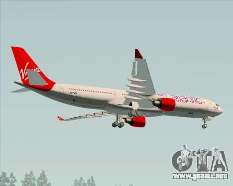 Airbus A330-300 Virgin Atlantic Airways para visión interna GTA San Andreas