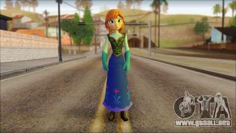 Princess Anna (Frozen) para GTA San Andreas