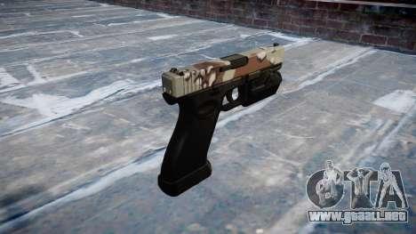 Pistola Glock 20 choco para GTA 4 segundos de pantalla
