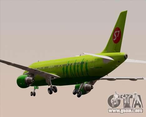 Airbus A320-214 S7-Siberia Airlines para GTA San Andreas