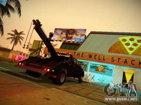 Dodge Ram Tow-Truck para la visión correcta GTA San Andreas