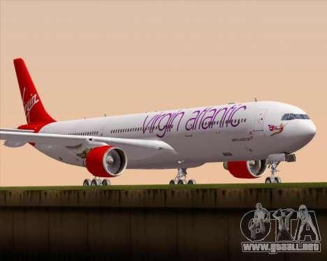 Airbus A330-300 Virgin Atlantic Airways para GTA San Andreas left