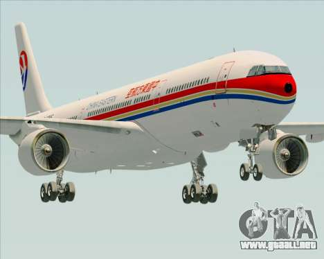 Airbus A330-300 China Eastern Airlines para GTA San Andreas