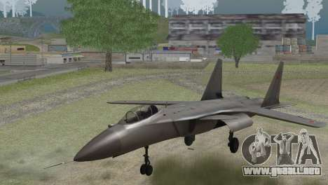 Sukhoi SU-47 Berkut from H.A.W.X. 2 Stealth Skin para GTA San Andreas