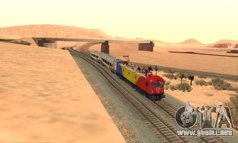Le 6600 Kw-Phoenix para GTA San Andreas vista hacia atrás