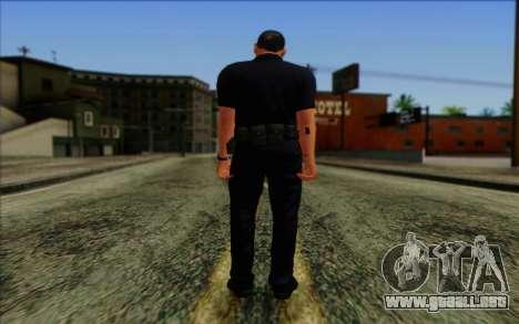 La policía (GTA 5) de la Piel 4 para GTA San Andreas segunda pantalla