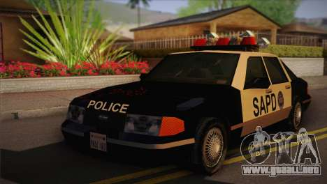 GTA 3 Police Car para GTA San Andreas