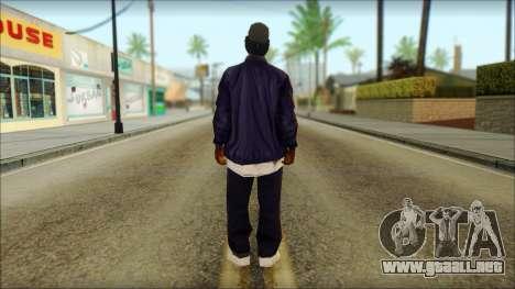 Eazy-E Blue v2 para GTA San Andreas segunda pantalla