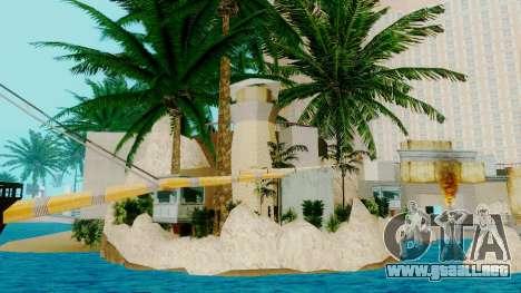 Nuevo barco pirata en Las Venturas para GTA San Andreas segunda pantalla