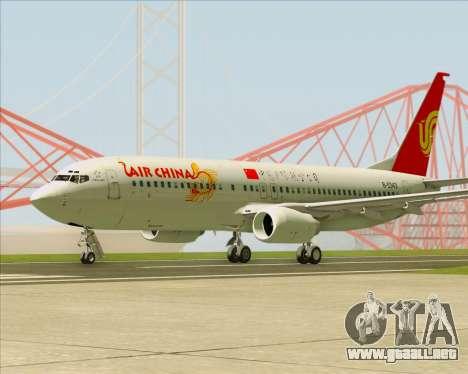 Boeing 737-89L Air China para la visión correcta GTA San Andreas