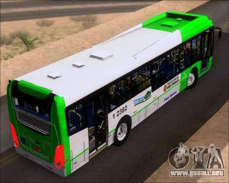 Caio Induscar Millennium BRT Viacao Gato Preto para GTA San Andreas vista hacia atrás