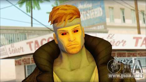 Gambit Deadpool The Game Cable para GTA San Andreas tercera pantalla