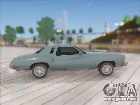 Chevrolet Monte Carlo 1973 para la visión correcta GTA San Andreas