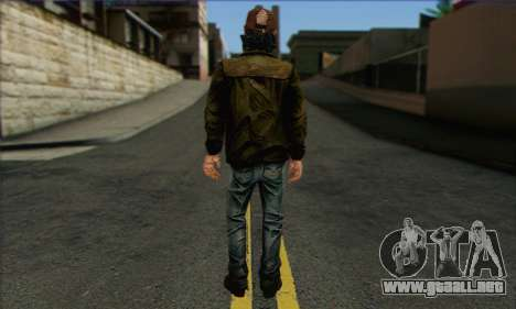 Kenny from The Walking Dead v2 para GTA San Andreas segunda pantalla