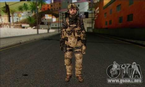 Task Force 141 (CoD: MW 2) Skin 14 para GTA San Andreas