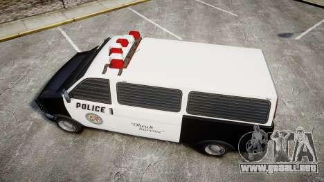 Declasse Burrito Police para GTA 4 visión correcta