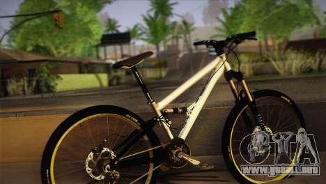 Banshee Rampant Bike para GTA San Andreas left